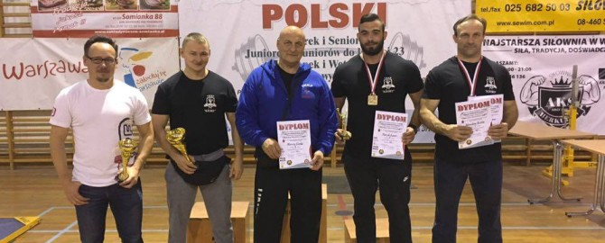 Mistrzostwa Polski w Trójboju Klasycznym 2016